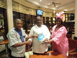 CISO-TZ CHAIRMAN RECEIVES THE SME HAND BOOK IN DAR ES SALAAM, TANZANIA