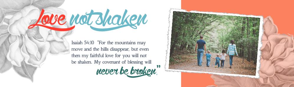Love Not Shaken