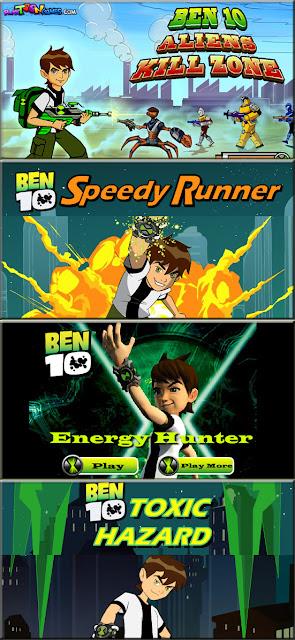Ben 10 Online Games