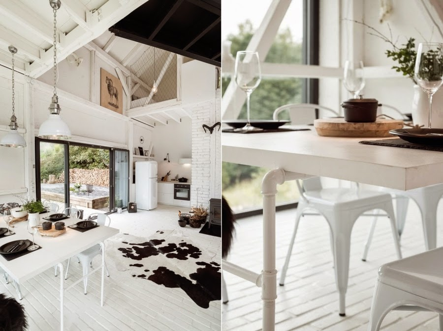 wystrój wnętrz, wnętrza, urządzanie mieszkania, dom, home decor, dekoracje, aranżacje, metamorfoza, stodoła, remont, styl skandynawski, scandi, styl industrialny, biel, białe wnętrza, otwarta przestrzeń