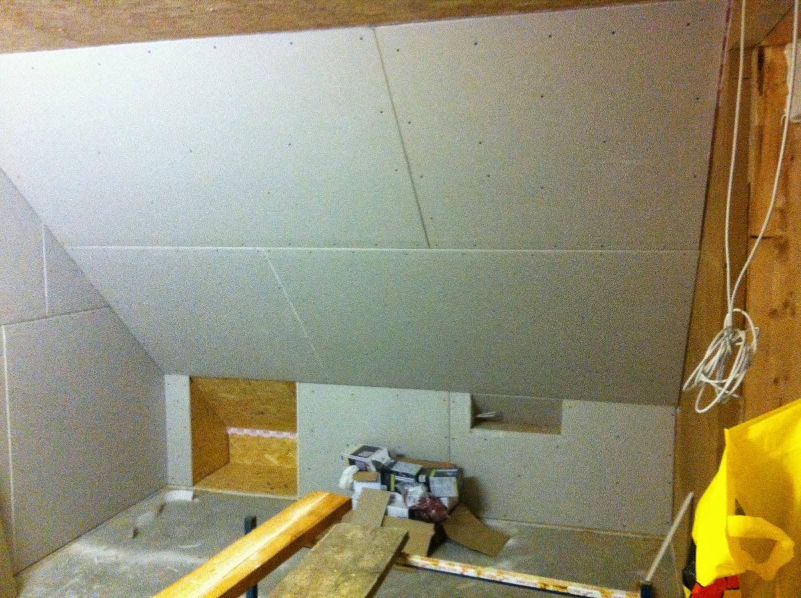 bautagebuch rayk birgit pepe die ersten gipskartonplatten. Black Bedroom Furniture Sets. Home Design Ideas