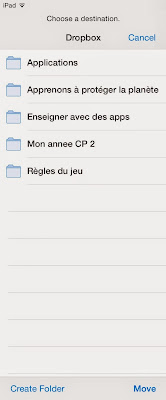 Partager document dropbox 1