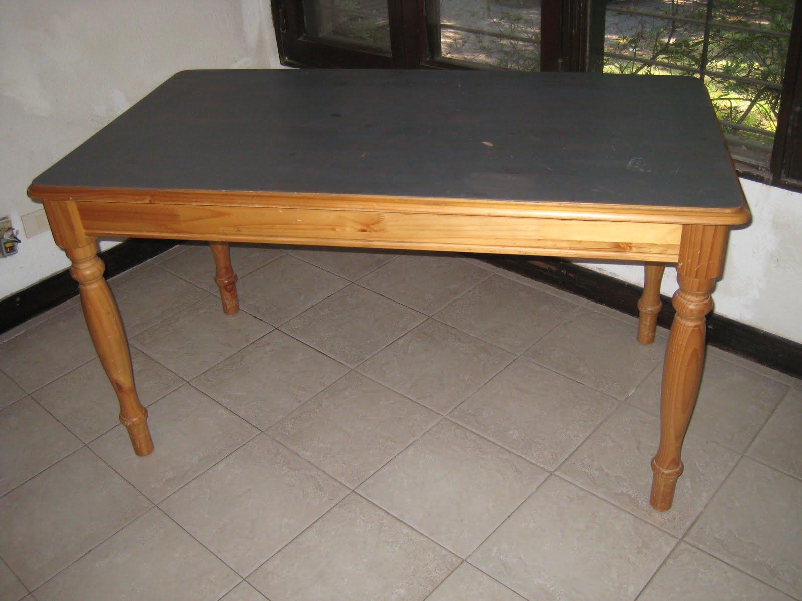 Nos mudamos y nos sobran estos muebles mesa comedor for Muebles comedor diario
