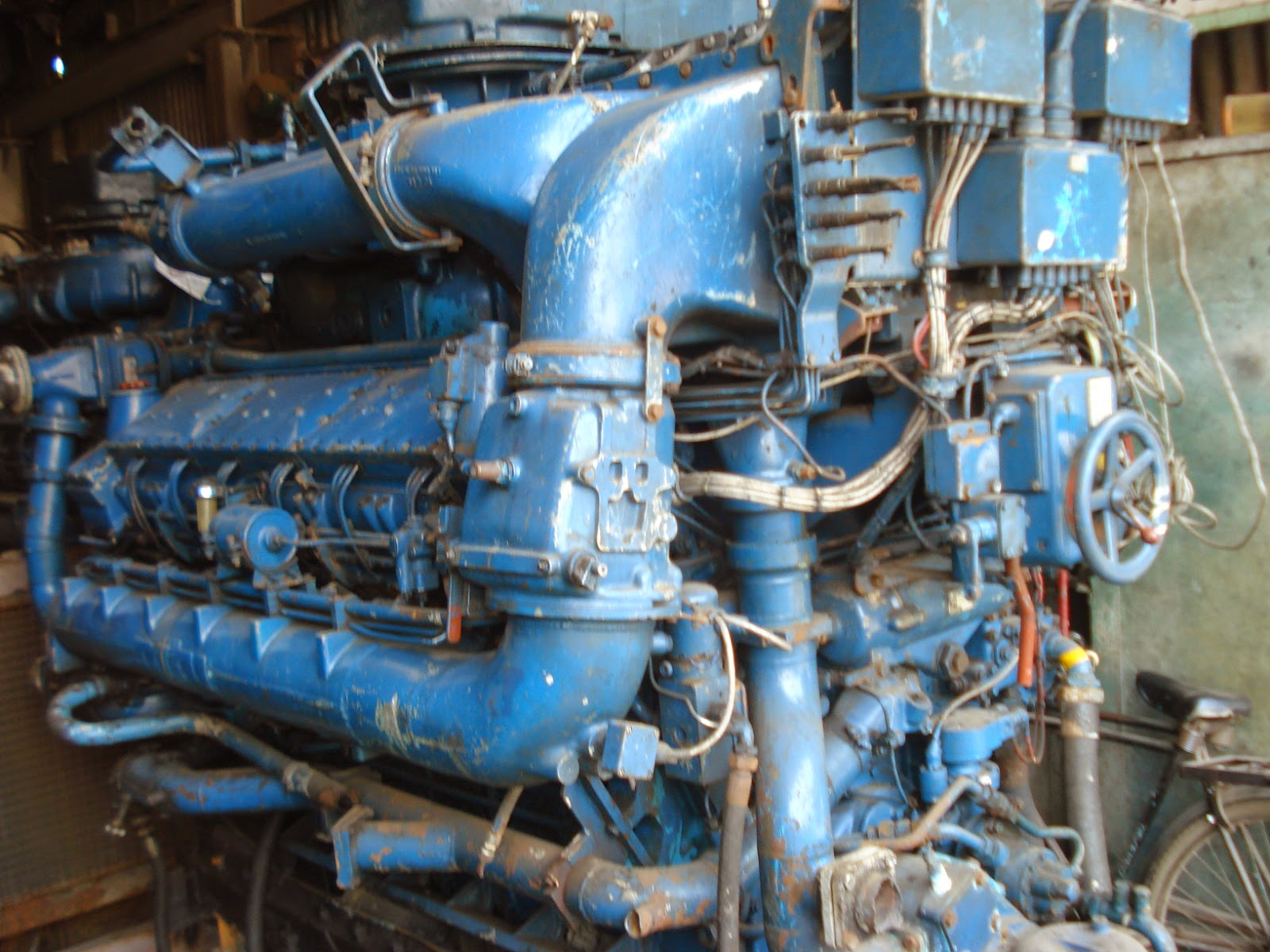 MTU marine engines, MTU propulsion engines, rolls royce
