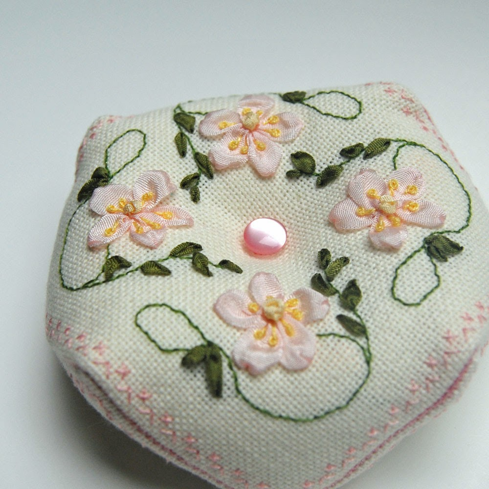 Ribbon embroidery designs for beginners makaroka
