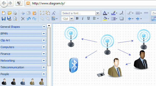 Webwooer Create Professional Data Flow Diagrams Er Uml