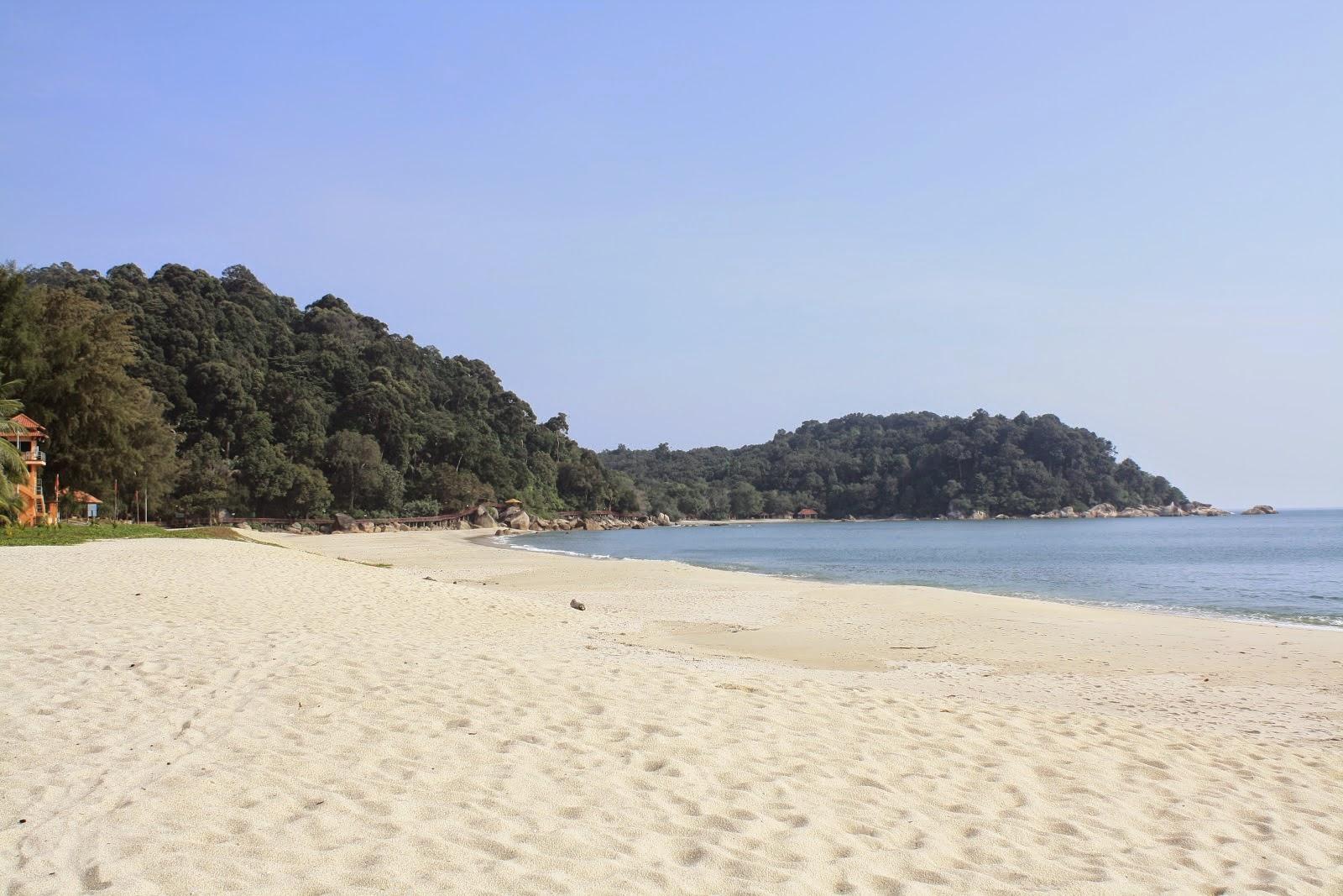 playa en Kuantan en Malasia