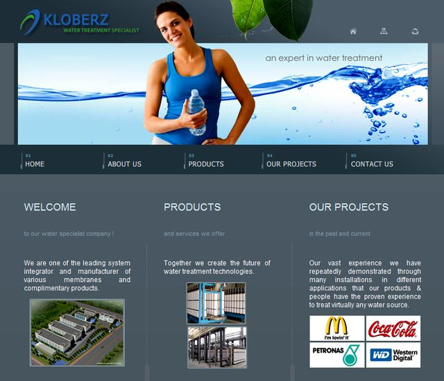 Kloberz.com.my - Water Filters System