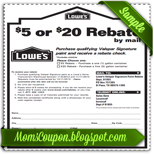 Great Deals Using Free Printable Lowes Coupons | Free Printable ...