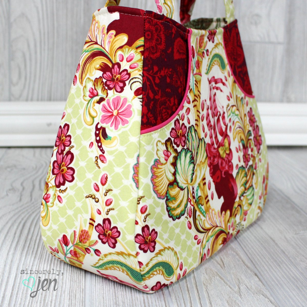 Ethel A Tutorial JenAdding To Sincerely Swoon's Tote Front Pockets TJulFc35K1
