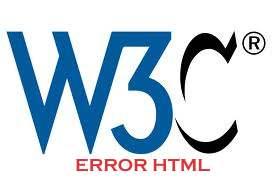 error validasi HTML