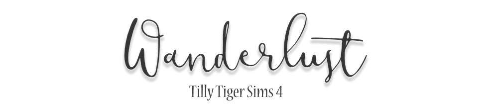 Tilly Tiger Sims 4