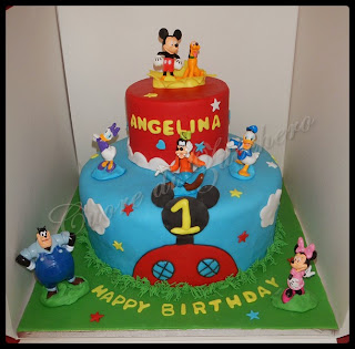 playhouse disney cake