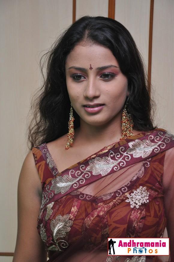 Desi Aunty In Transparent Blouse Photo 49
