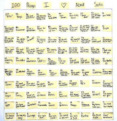 100 things i love about you list image credit stars for Minimalist living 100 things list