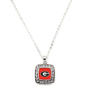 Show your support for your team with this classic styled necklace featuring the University of Georgia logo. This necklace includes a complimentary chain that measures 18 inches long and is complete with a secure lobster claw clasp. This item is made in the USA and is licensed by the university.