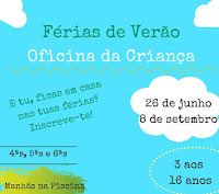 MORA: FÉRIAS DE VERÃO - OFICINA DA CRIANÇA