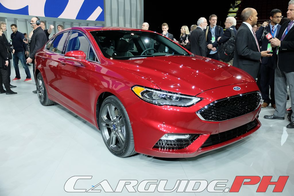 A surprise hit for Ford the Fusion has seen an uptick in sales especially in areas usually dominated by Japanese mid-sized sedans. & NAIAS 2016: 2017 Ford Fusion Packs More Power Tech | CarGuide.PH ... markmcfarlin.com