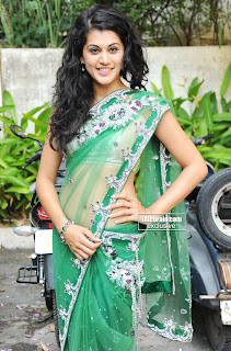 Taapsee Paanu Sizzling HQ Pics in Spicy Transparent Saree