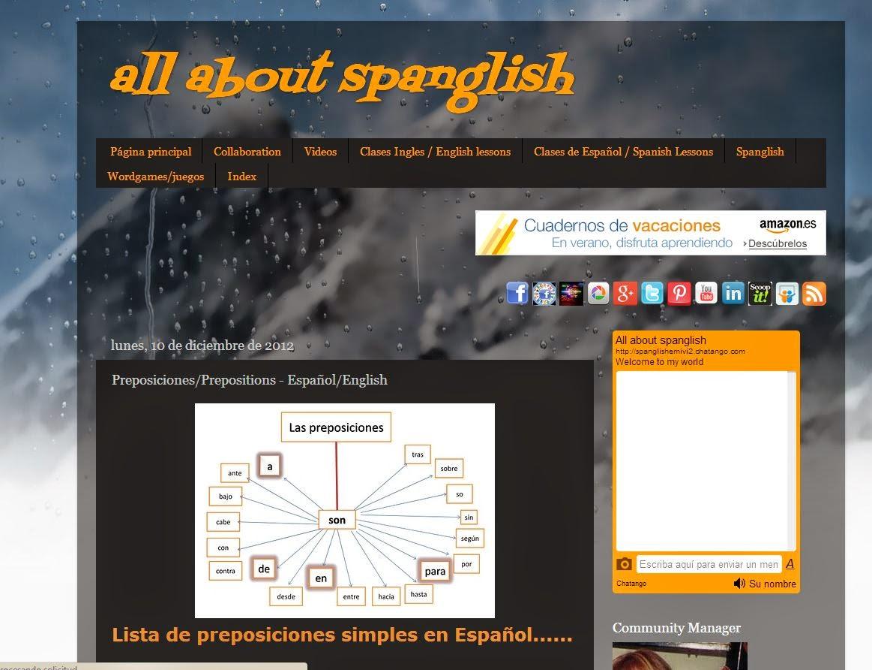 Diviértete con los idiomas en all about spanglish