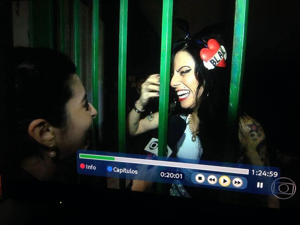 Sósia Amy Winehouse na Globo!