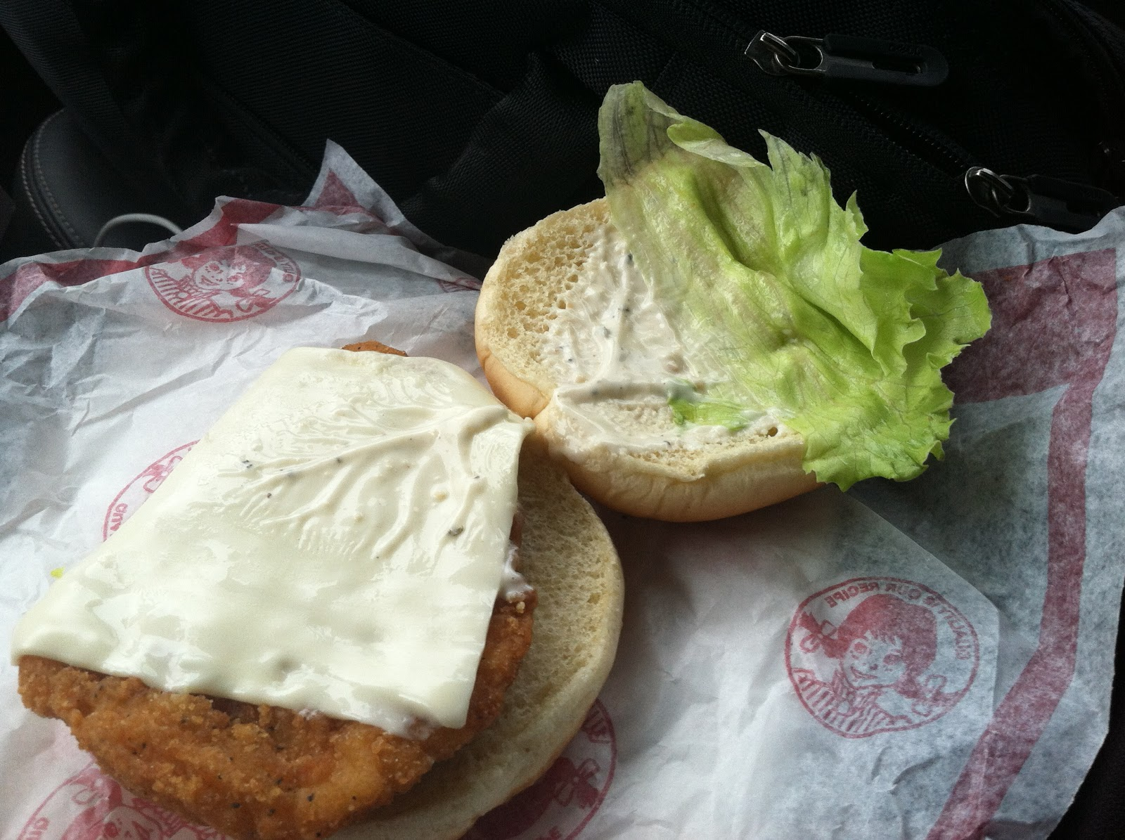 Today I Got My Mitts On Their Newest Addition The Monterrey Ranch Crispy Chicken Sandwich Not Really Much Different Then Originial