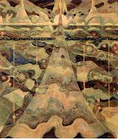 Allegro by M.K. Ciurlionis 1908