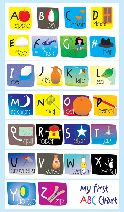 Search Results For Kids Alphabet Chart Calendar 2015