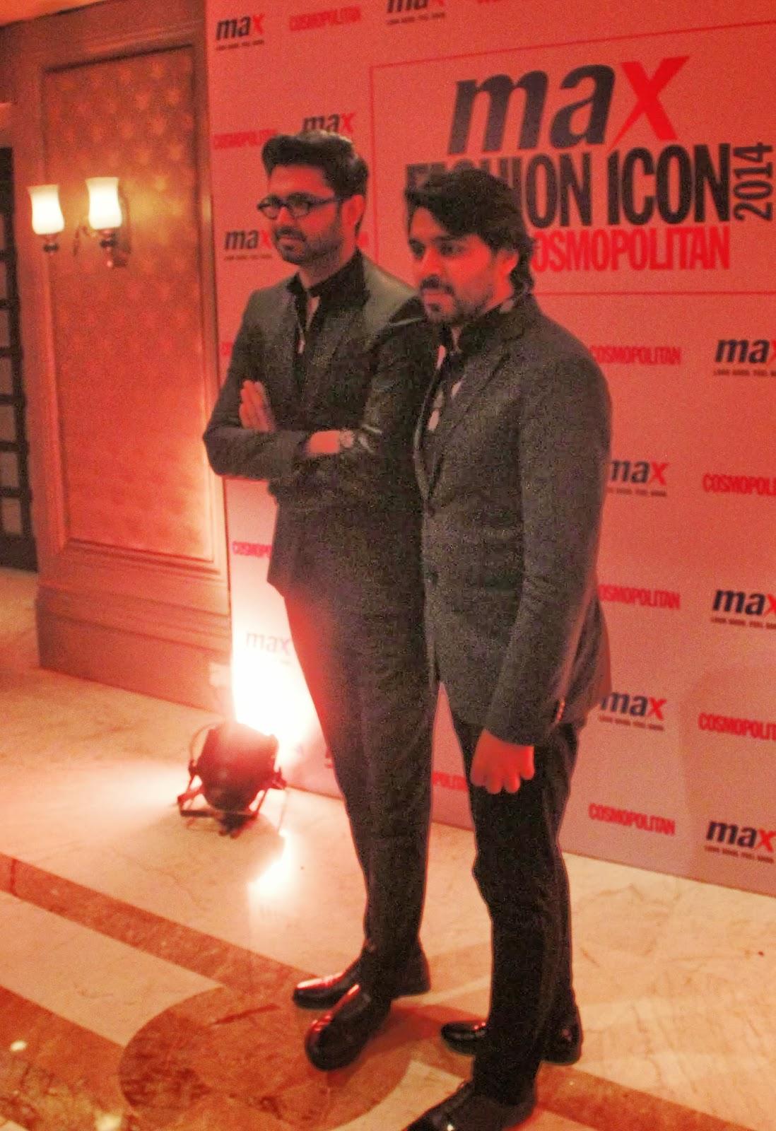 Shivan and Naresh - MAX Fashion Icon 2014 In Collaboration  With Cosmopolitan Magazine Grand Finale - All Pictures, Uncut Version