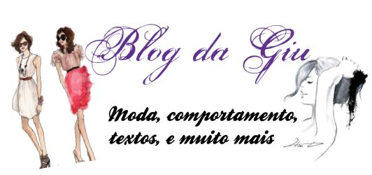 Blog da Giu