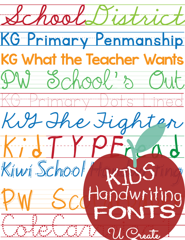 kids writing font Children what are some fonts that look like a child's handwriting update cancel answer wiki 3 answers which is this beautiful handwriting font.
