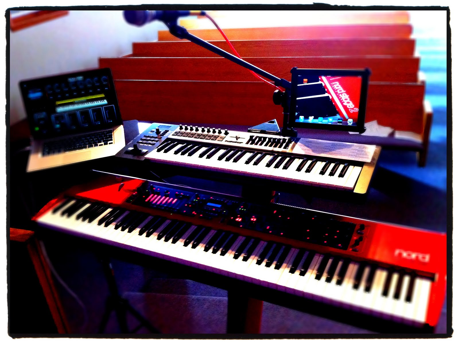 A Merging Of 2 Passions Worship Amp Technology My Keyboard Rig