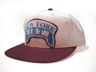 New York IRT Custom Snapback Cap