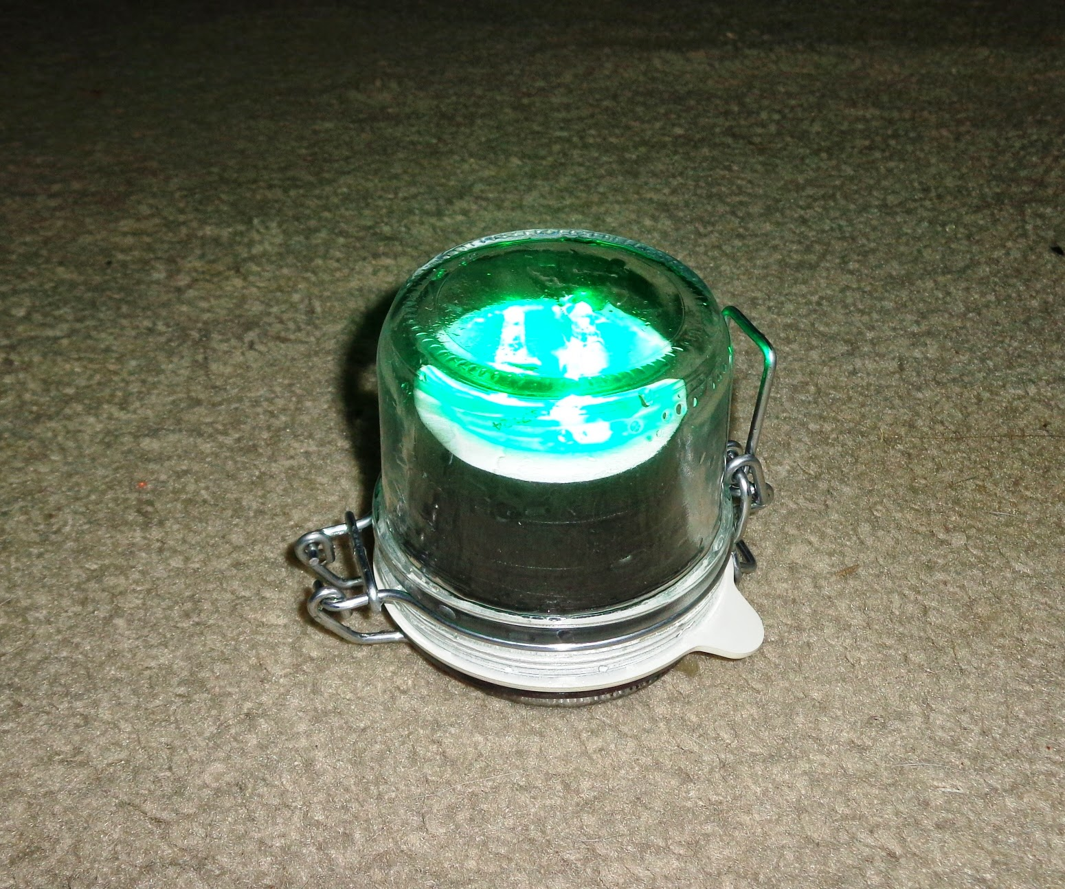 city of allen fishing: homemade green led fishing light - sealed, Reel Combo