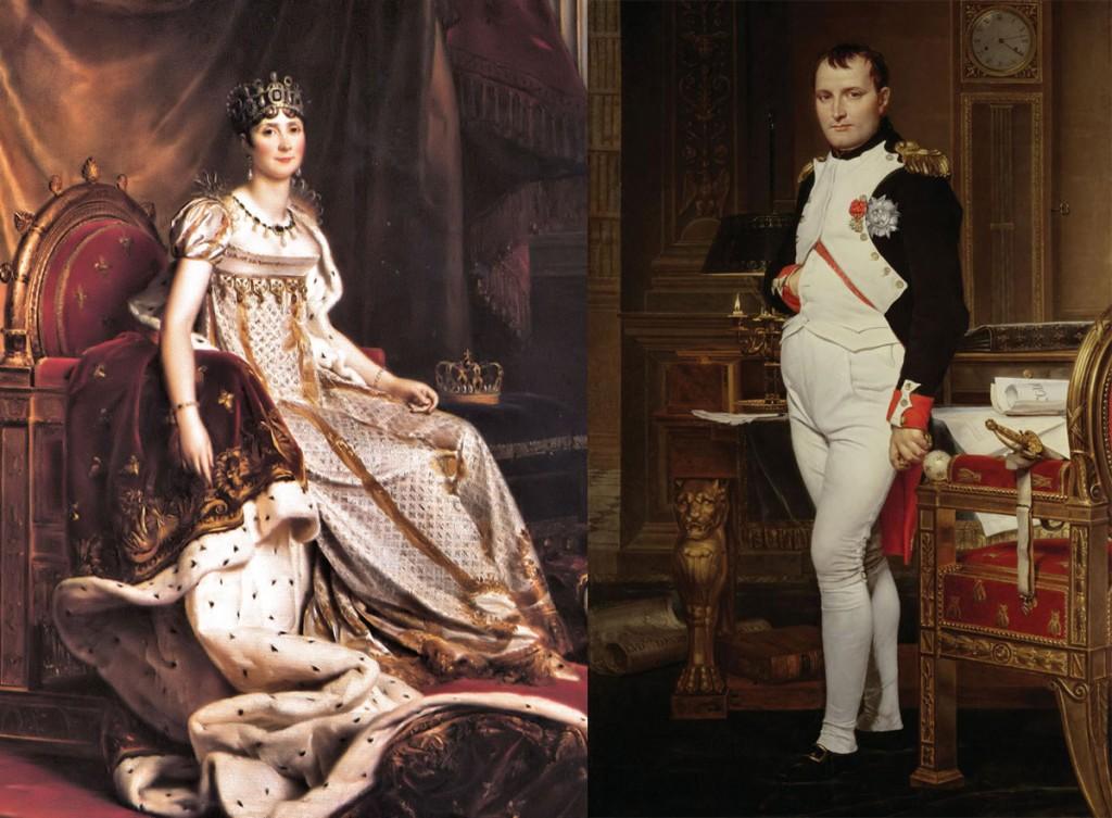 Resultado de imagen para Napoleón y Josefina