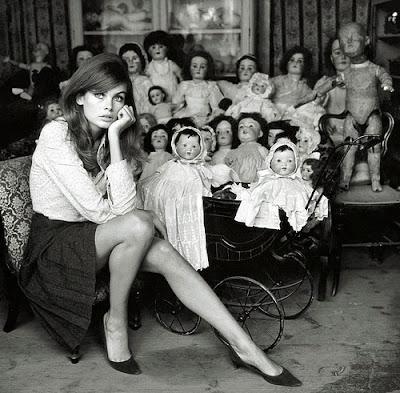Terry O'Neill - Jean Shrimpton,1964.