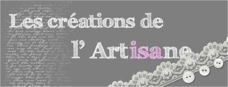 les créations de l'artisane