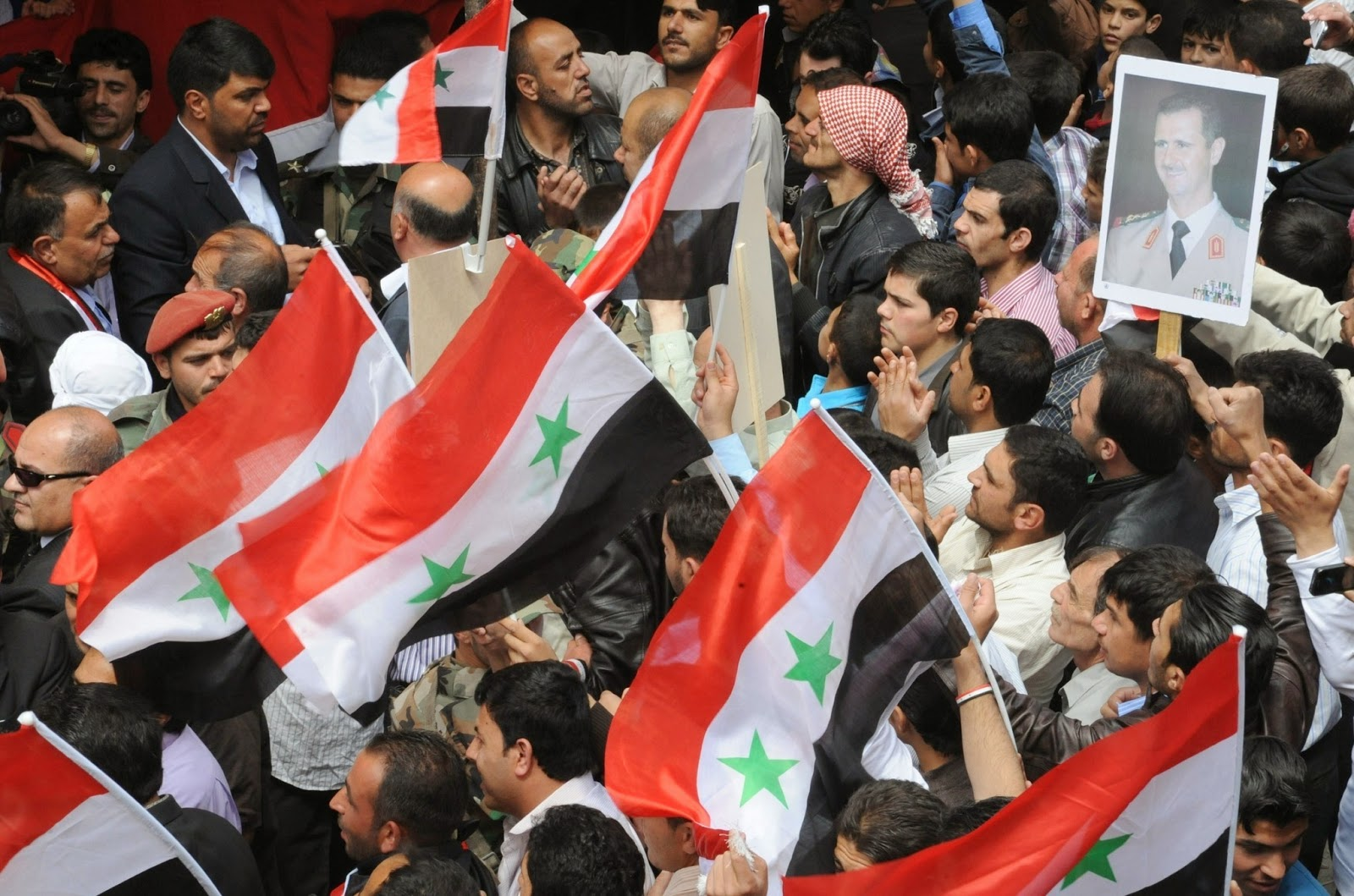 la fg wn syria election date 20140421 Syria: Elections Are a Battle Won, But the War Goes On