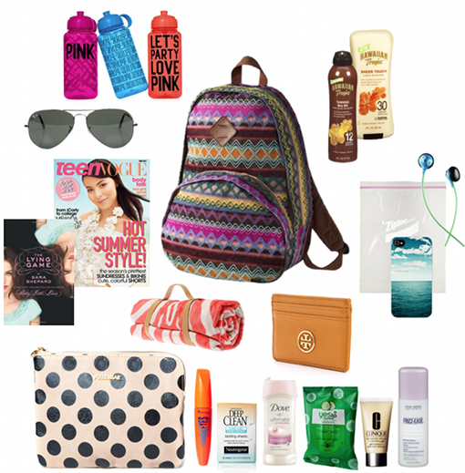 Scarves and Rockets: Pack the Perfect Beach Bag!
