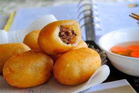 Bí quyết làm Bánh rán nhân mặn ngon