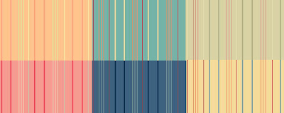 Colorful Thin Stripes Textures