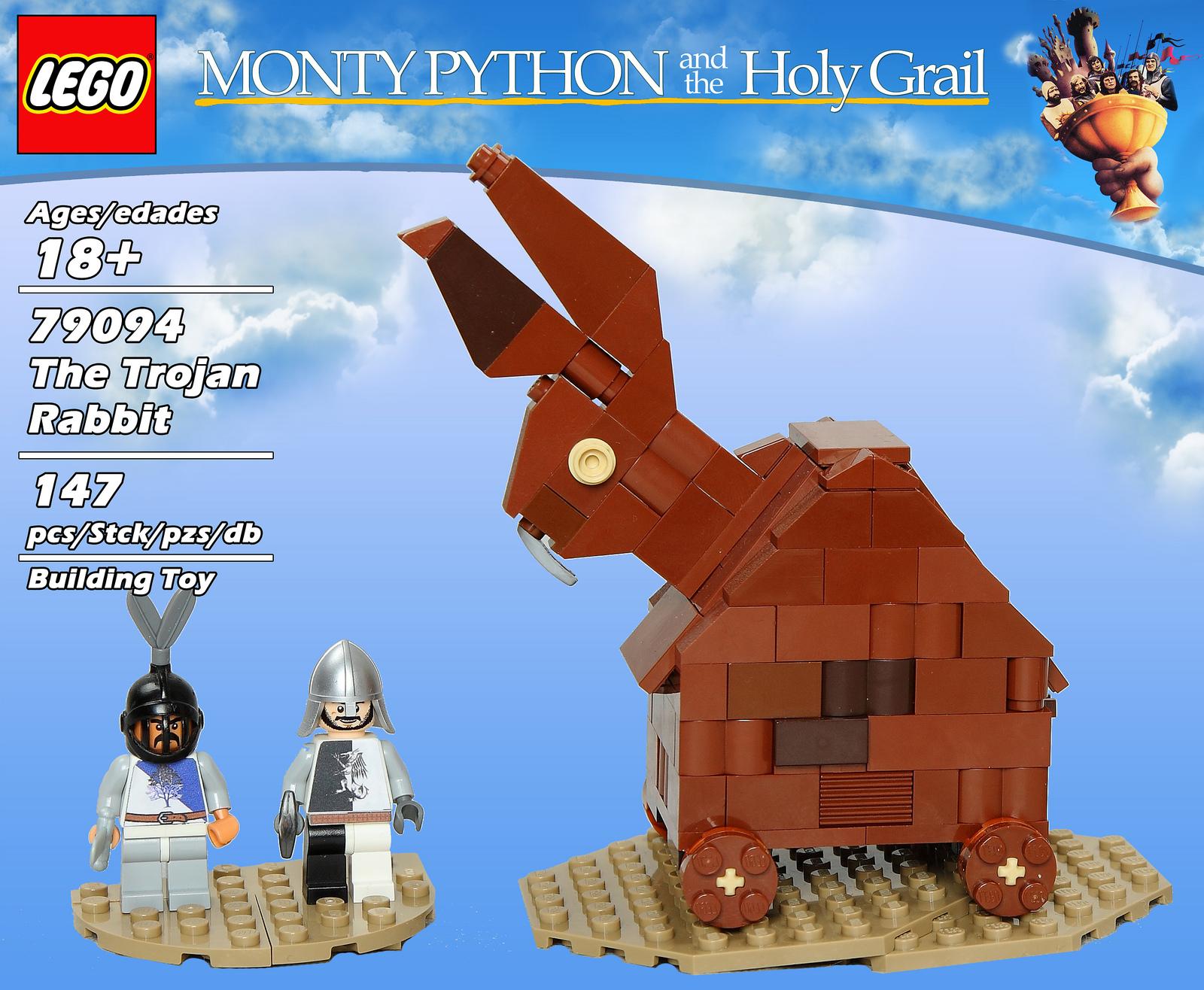 The Brickverse It S Lego Monty Python