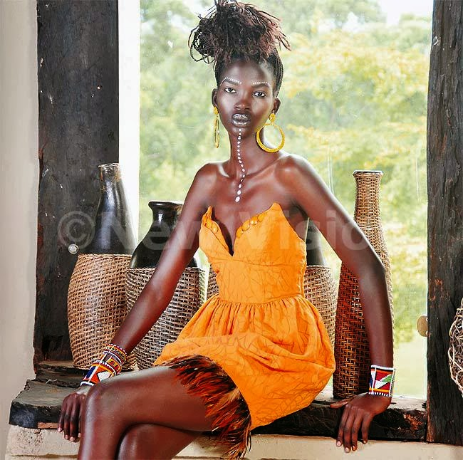 Aamito Stacie Lagum 'Africa's Next Top Model' Finale winner