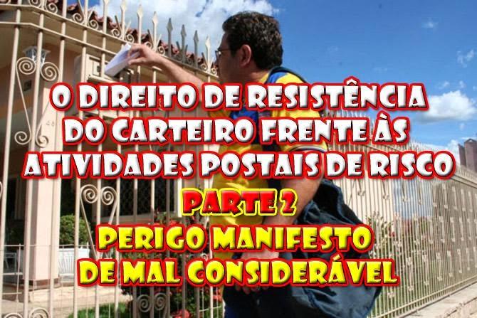 DIREITO DE RESISTÊNCIA DO CARTEIRO