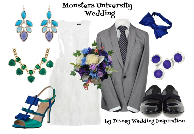 Monsters University Wedding Style Board