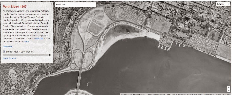 My Tech Diary Perth Metro Region Google Map Satellite Image - Google map satellite zoom