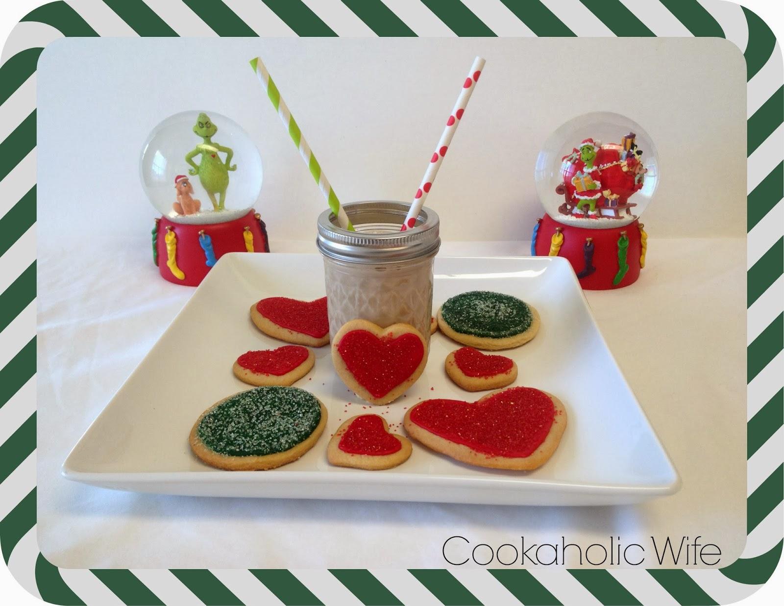 12 Weeks Of Christmas Treats Week 9 Grinch Heart Cookies