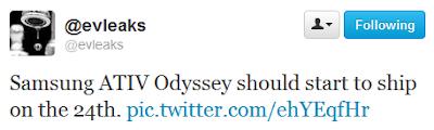 evleaks Odyssey