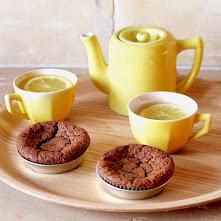 Gâteaux fondants aux noix & au chocolat