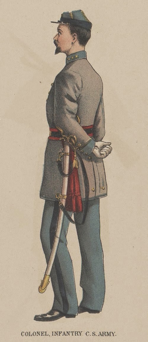 Confederate Colonel of Infantry